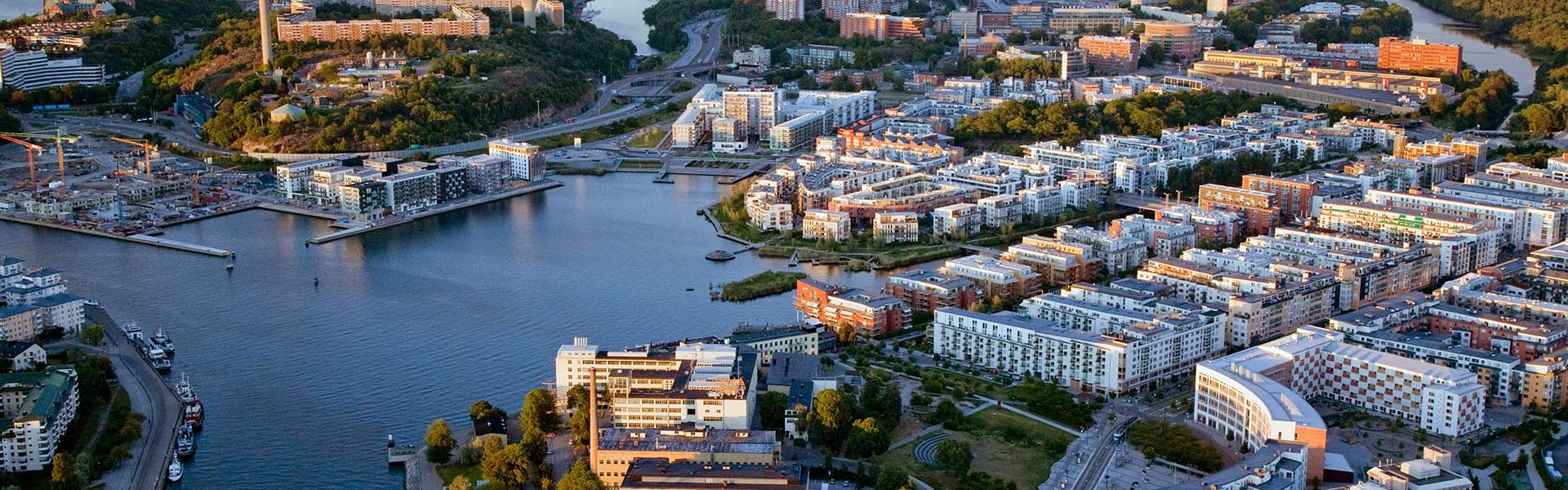 China Sweden Eco City - sustainable urban development